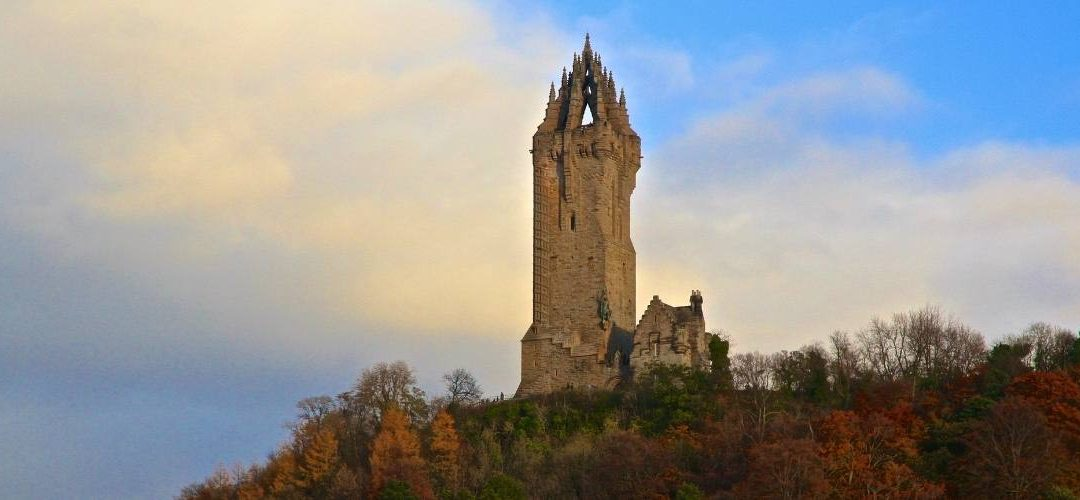 Wallace Monument, at Stirling