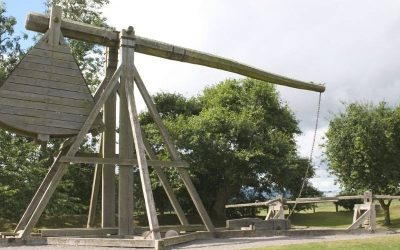 Warwolf Trebuchet; The Largest Catapult Ever Built